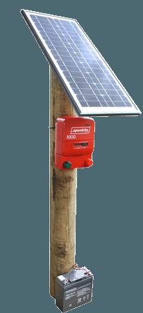Solcelle paneler til spændingsgivere